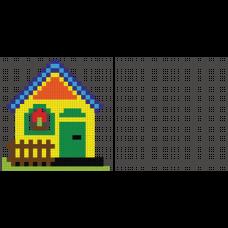 Sihirli Kağıt Yazı Tahtası Boyama Çalışması Kodlama Özellikli Ev 150x72cm
