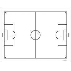 Sihirli Kağıt Yazı Tahtası Futbol Taktik 105x70cm