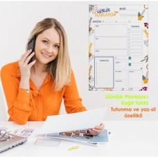 Sihirli Kağıt Günlük Takvim Planlayıcı Statik Tutunma Özellikli Yapıştırma Gerektirmez 47x70cm