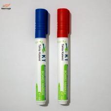 Sihirli Kağıt Tahta Kalemi Uzun Ömürlü Yeniden Doldurulabilir Mavi Kırmızı 2'li
