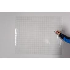 Sihirli Kağıt Yazı Tahtası Kareli Şeffaf Pratik Tutunabilir Yapıştırma Gerektirmez 120x100cm