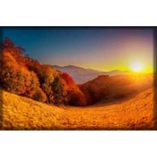 Sihirli Kağıt Doğa Temalı Tablo Güneş Statik Tutunma Özellikli Yapıştırma Gerektirmez 117x78cm