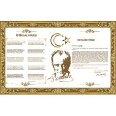 Sihirli Kağıt Milli Levha Buzlu Kağıt Üzerine Baskı Statik Tutunma Özellikli Yapıştırma Gerektirmez 110x70cm