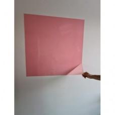 Sihirli Kağıt Renkli Yazı Tahtası Pembe Pratik Statik Tutunma Özellikli Yapıştırma Gerektirmez 100x60cm 2'li
